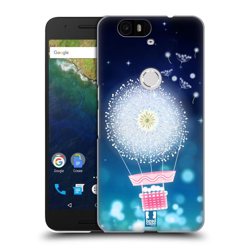 Plastové pouzdro na mobil Huawei Nexus 6P HEAD CASE Pampeliškový balón (Kryt či obal na mobilní telefon Huawei Nexus 6P)