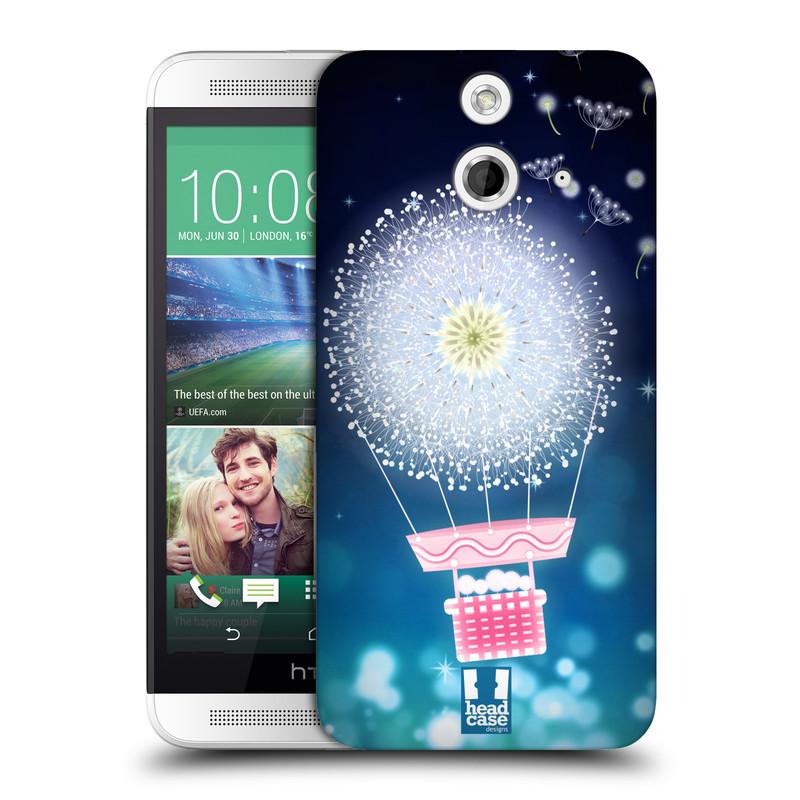 Plastové pouzdro na mobil HTC ONE E8 HEAD CASE Pampeliškový balón (Kryt či obal na mobilní telefon HTC ONE E8)