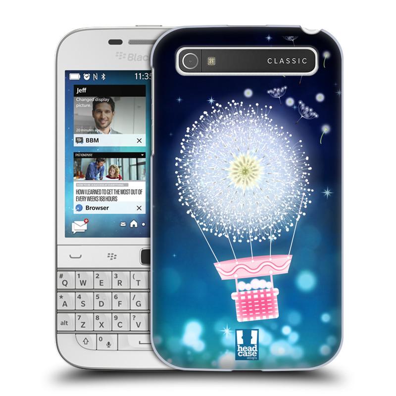 Plastové pouzdro na mobil Blackberry Classic HEAD CASE Pampeliškový balón (Kryt či obal na mobilní telefon Blackberry Classic)