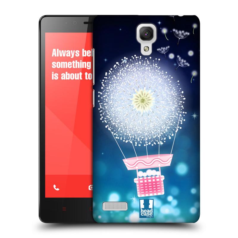 Plastové pouzdro na mobil Xiaomi Redmi Note LTE HEAD CASE Pampeliškový balón (Kryt či obal na mobilní telefon Xiaomi Redmi Note LTE (4G) s 5,5'' displejem)