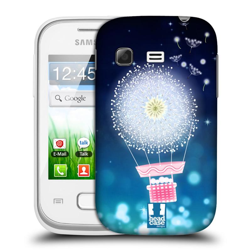 Plastové pouzdro na mobil Samsung Galaxy Pocket HEAD CASE Pampeliškový balón (Kryt či obal na mobilní telefon Samsung Galaxy Pocket GT-S5300)