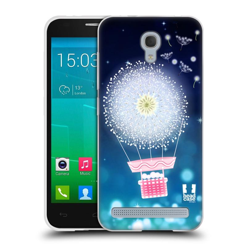 Silikonové pouzdro na mobil Alcatel One Touch Idol 2 Mini S 6036Y HEAD CASE Pampeliškový balón (Silikonový kryt či obal na mobilní telefon Alcatel Idol 2 Mini S OT-6036Y)