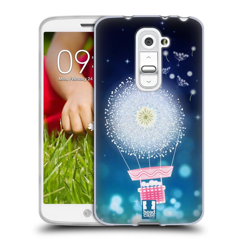 Silikonové pouzdro na mobil LG G2 Mini HEAD CASE Pampeliškový balón (Silikonový kryt či obal na mobilní telefon LG G2 Mini D620)