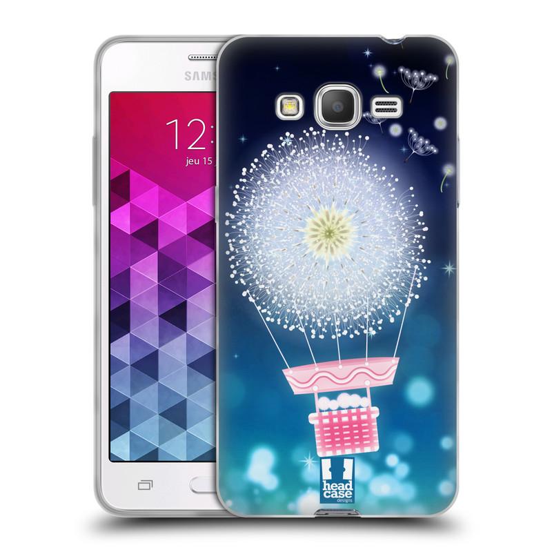 Silikonové pouzdro na mobil Samsung Galaxy Grand Prime VE HEAD CASE Pampeliškový balón (Silikonový kryt či obal na mobilní telefon Samsung Galaxy Grand Prime VE SM-G531F)