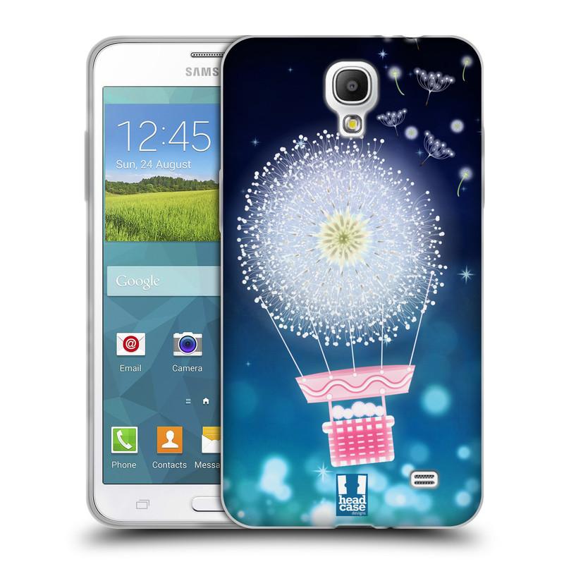 Silikonové pouzdro na mobil Samsung Galaxy Grand Mega 2 HEAD CASE Pampeliškový balón (Silikonový kryt či obal na mobilní telefon Samsung Galaxy Grand Mega 2 SM-G750)