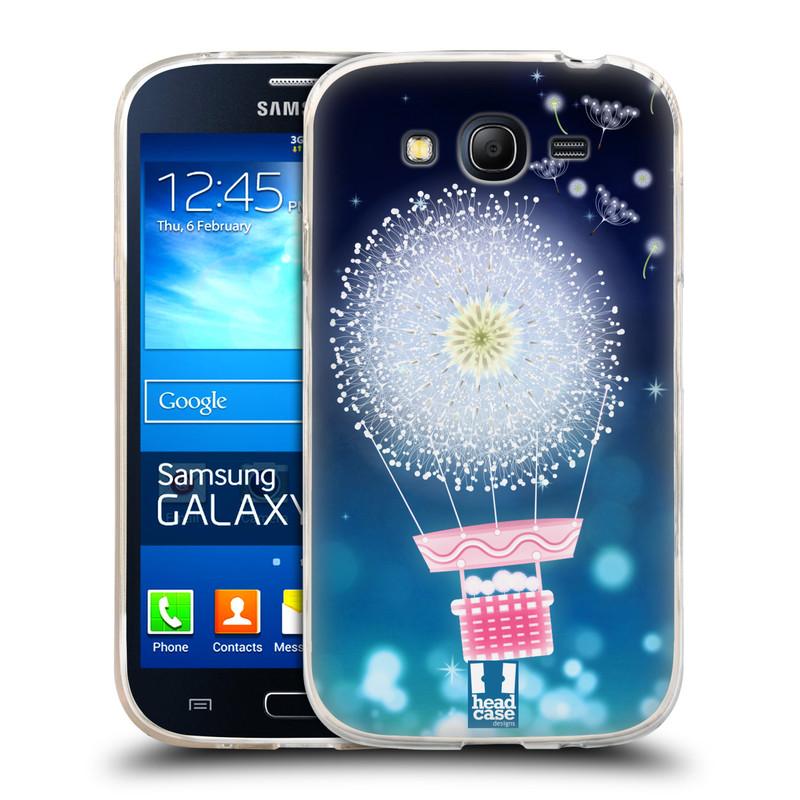Silikonové pouzdro na mobil Samsung Galaxy Grand Neo HEAD CASE Pampeliškový balón (Silikonový kryt či obal na mobilní telefon Samsung Galaxy Grand Neo GT-I9060)