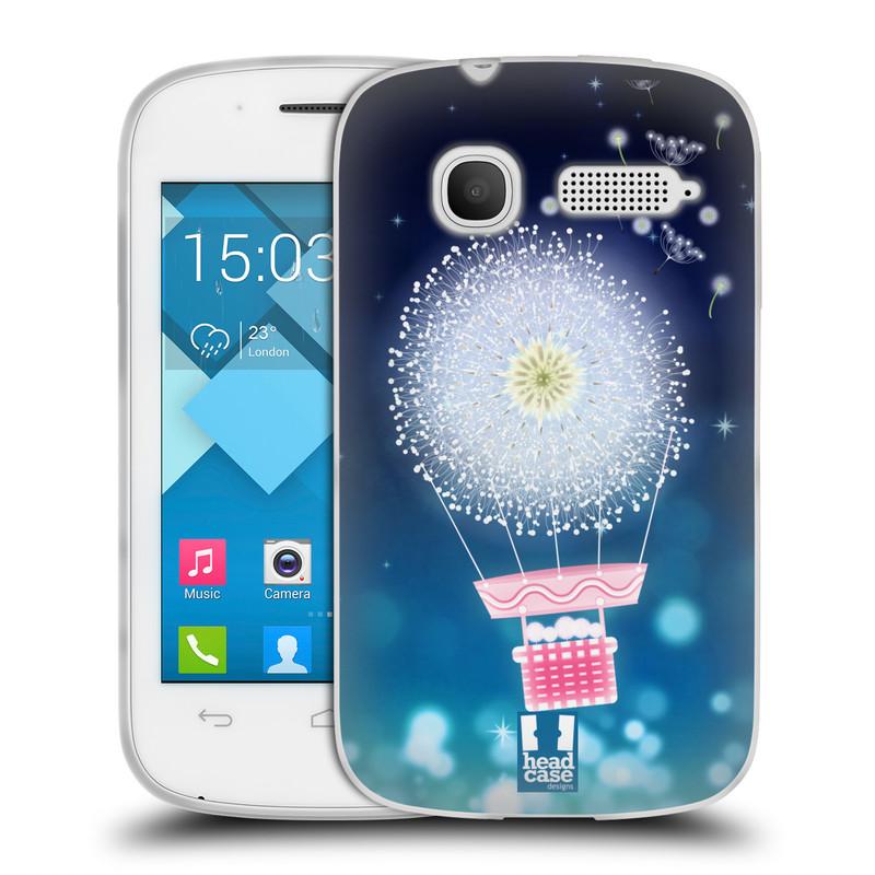 Silikonové pouzdro na mobil Alcatel One Touch Pop C1 HEAD CASE Pampeliškový balón (Silikonový kryt či obal na mobilní telefon Alcatel OT-4015D POP C1)