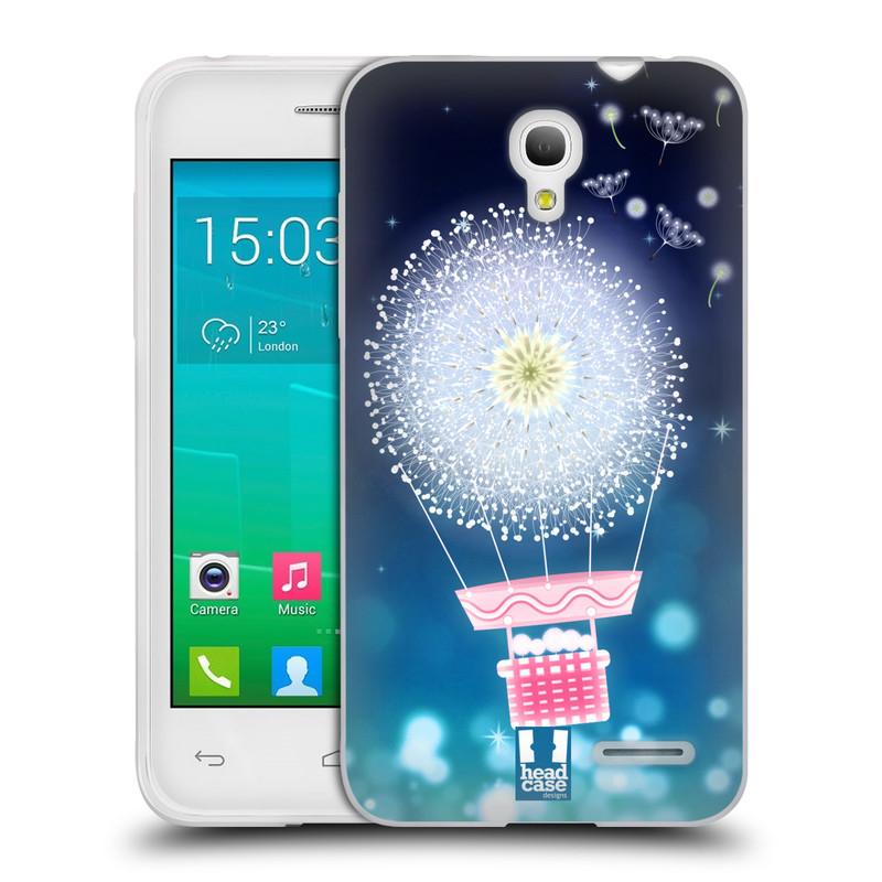 Silikonové pouzdro na mobil Alcatel One Touch Pop S3 HEAD CASE Pampeliškový balón (Silikonový kryt či obal na mobilní telefon Alcatel OT- 5050Y POP S3)