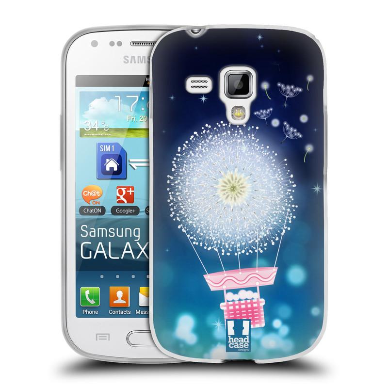 Silikonové pouzdro na mobil Samsung Galaxy Trend Plus HEAD CASE Pampeliškový balón (Silikonový kryt či obal na mobilní telefon Samsung Galaxy Trend Plus GT-S7580)