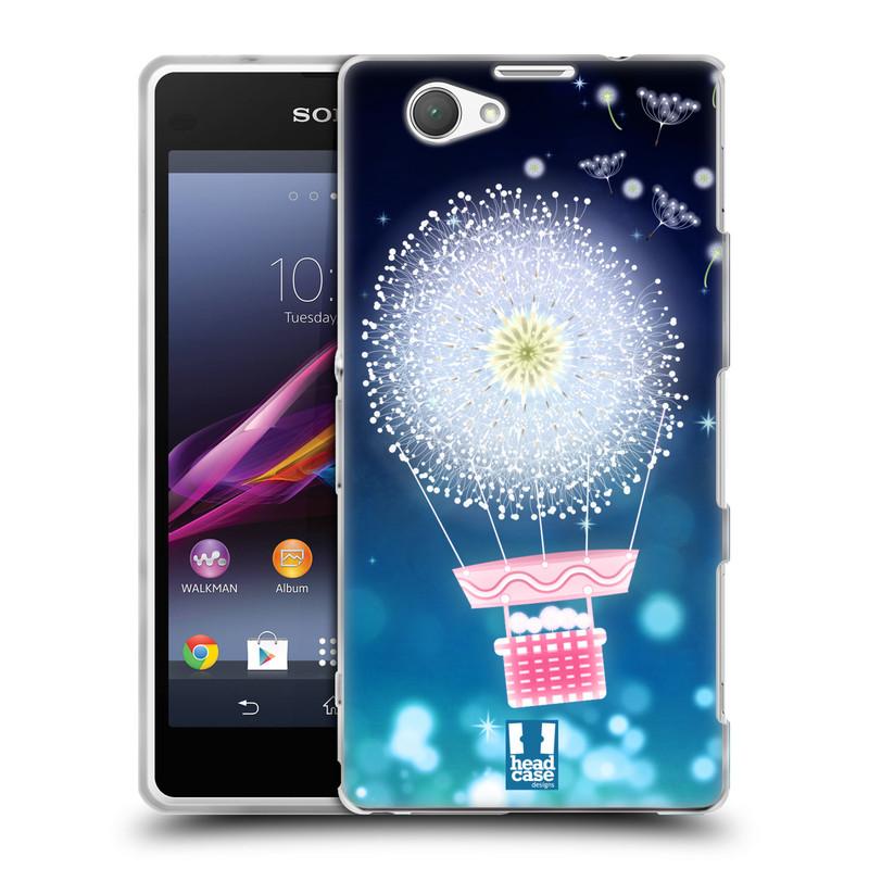 Silikonové pouzdro na mobil Sony Xperia Z1 Compact D5503 HEAD CASE Pampeliškový balón (Silikonový kryt či obal na mobilní telefon Sony Xperia Z1 Compact)