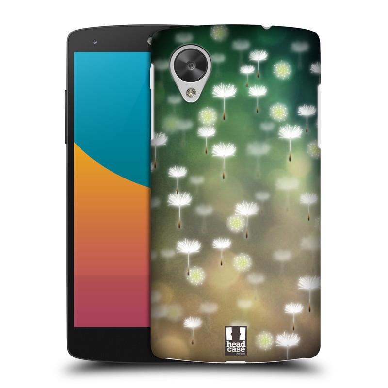 Plastové pouzdro na mobil LG Nexus 5 HEAD CASE Pampeliškové padáčky (Kryt či obal na mobilní telefon LG Google Nexus 5 D821)