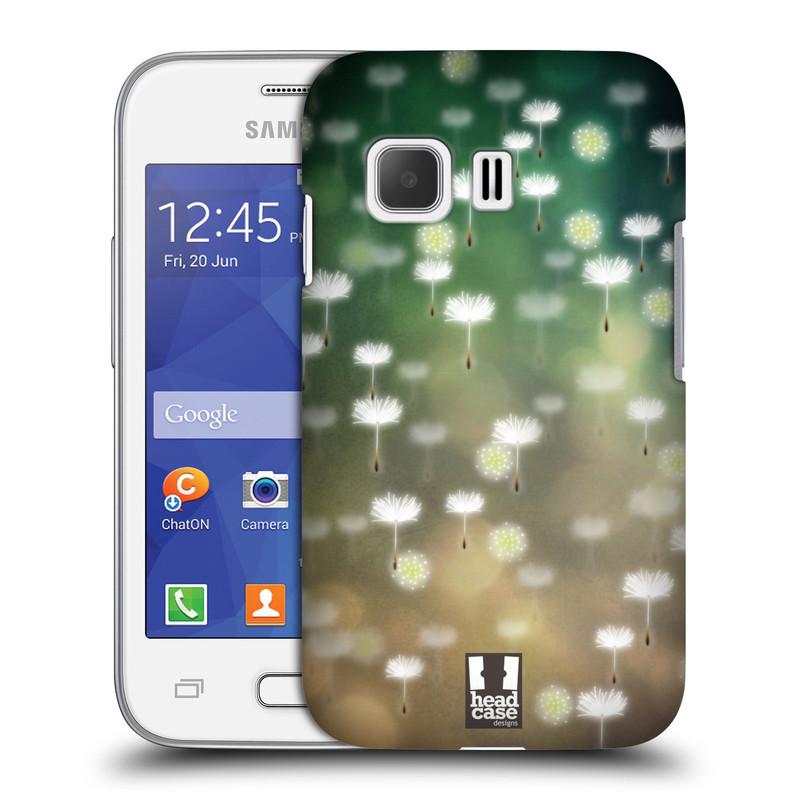 Plastové pouzdro na mobil Samsung Galaxy Young 2 HEAD CASE Pampeliškové padáčky (Kryt či obal na mobilní telefon Samsung Galaxy Young 2 SM-G130)