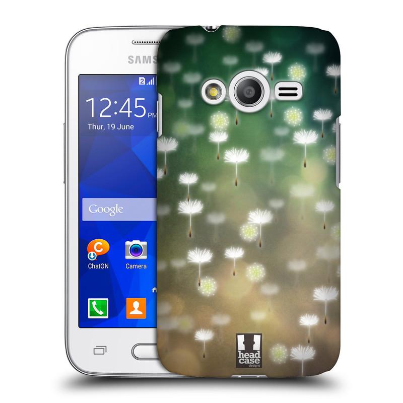 Plastové pouzdro na mobil Samsung Galaxy Trend 2 Lite HEAD CASE Pampeliškové padáčky (Kryt či obal na mobilní telefon Samsung Galaxy Trend 2 Lite SM-G318)
