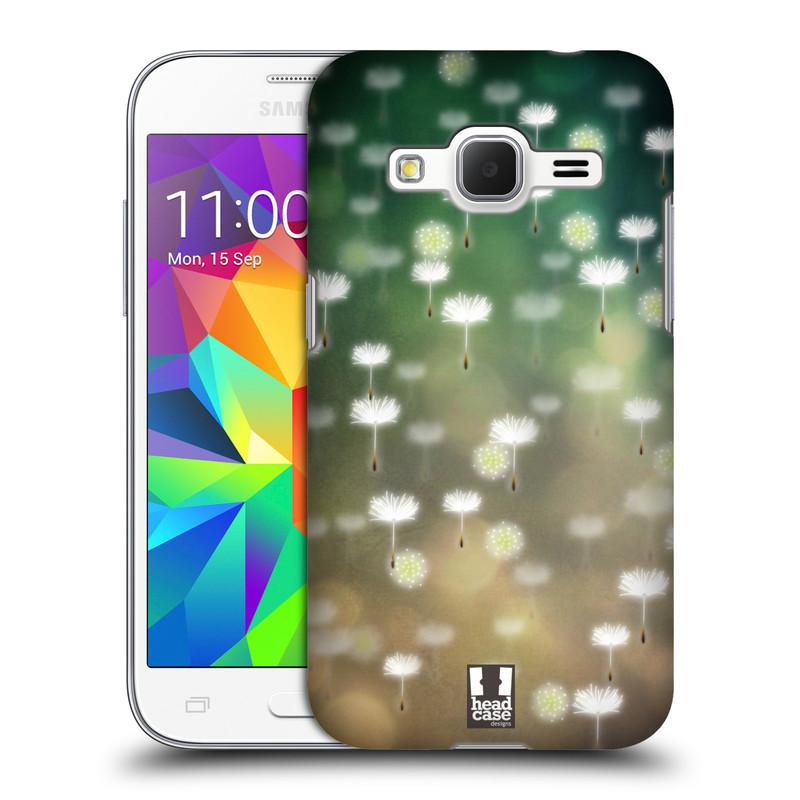 Plastové pouzdro na mobil Samsung Galaxy Core Prime LTE HEAD CASE Pampeliškové padáčky (Kryt či obal na mobilní telefon Samsung Galaxy Core Prime LTE SM-G360)