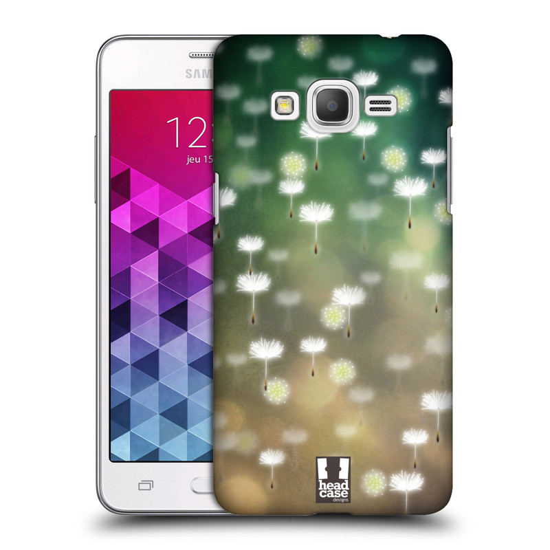 Plastové pouzdro na mobil Samsung Galaxy Grand Prime HEAD CASE Pampeliškové padáčky (Kryt či obal na mobilní telefon Samsung Galaxy Grand Prime SM-G530)