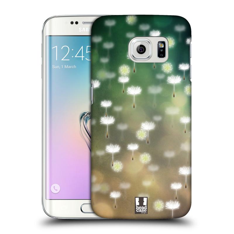 Plastové pouzdro na mobil Samsung Galaxy S6 Edge HEAD CASE Pampeliškové padáčky (Kryt či obal na mobilní telefon Samsung Galaxy S6 Edge SM-G925F)