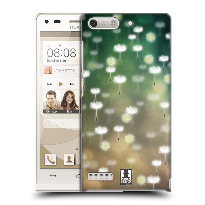 Plastové pouzdro na mobil Huawei Ascend G6 HEAD CASE Pampeliškové padáčky (Kryt či obal na mobilní telefon Huawei Ascend G6 bez LTE)