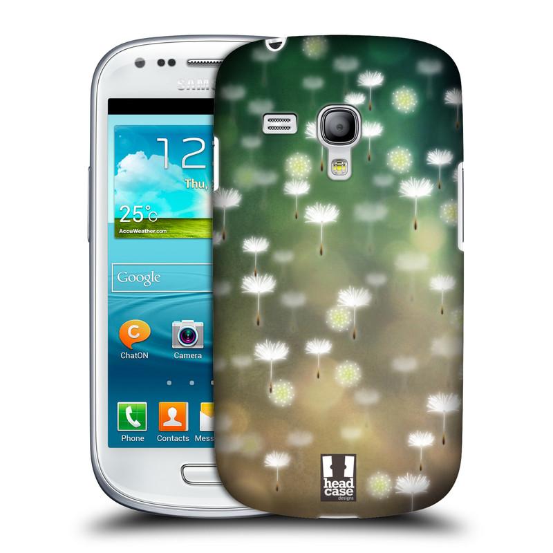 Plastové pouzdro na mobil Samsung Galaxy S III Mini HEAD CASE Pampeliškové padáčky (Kryt či obal na mobilní telefon Samsung Galaxy S III Mini GT-i8190)