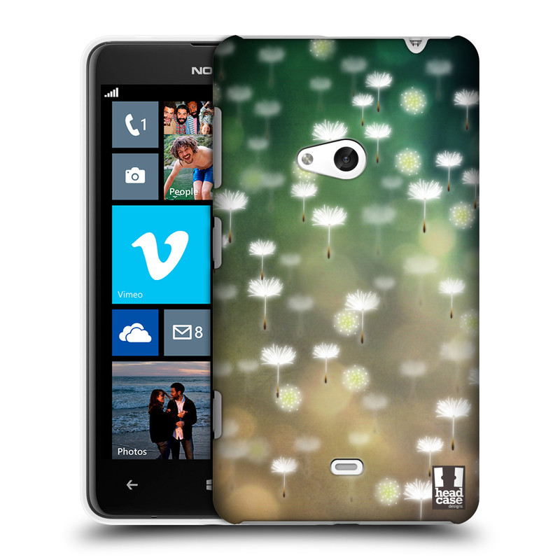 Plastové pouzdro na mobil Nokia Lumia 625 HEAD CASE Pampeliškové padáčky (Kryt či obal na mobilní telefon Nokia Lumia 625)