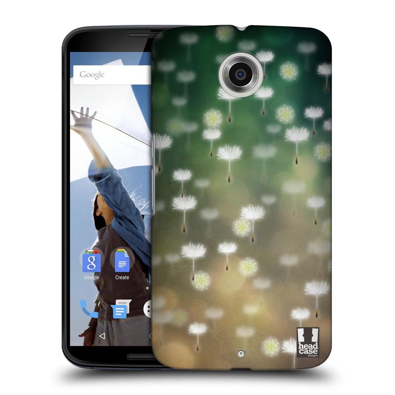 Plastové pouzdro na mobil Motorola Nexus 6 HEAD CASE Pampeliškové padáčky (Kryt či obal na mobilní telefon Motorola Nexus 6)