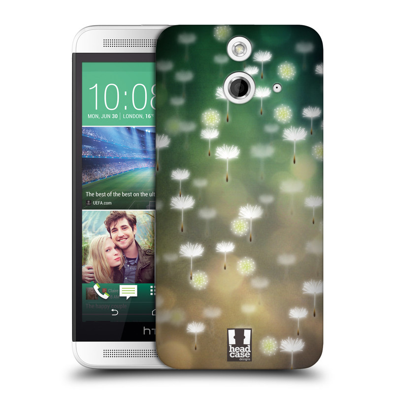 Plastové pouzdro na mobil HTC ONE E8 HEAD CASE Pampeliškové padáčky (Kryt či obal na mobilní telefon HTC ONE E8)