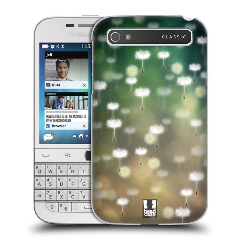 Plastové pouzdro na mobil Blackberry Classic HEAD CASE Pampeliškové padáčky (Kryt či obal na mobilní telefon Blackberry Classic)