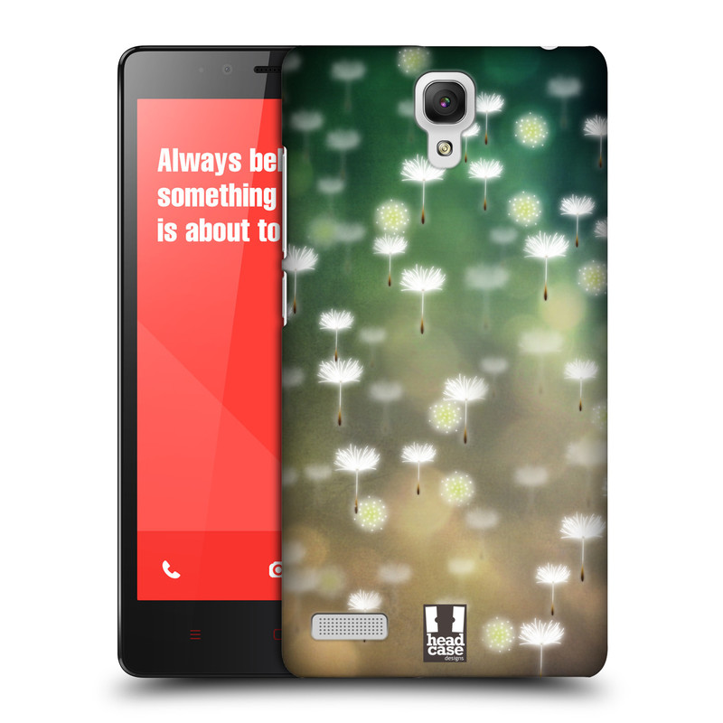 Plastové pouzdro na mobil Xiaomi Redmi Note LTE HEAD CASE Pampeliškové padáčky (Kryt či obal na mobilní telefon Xiaomi Redmi Note LTE (4G) s 5,5'' displejem)