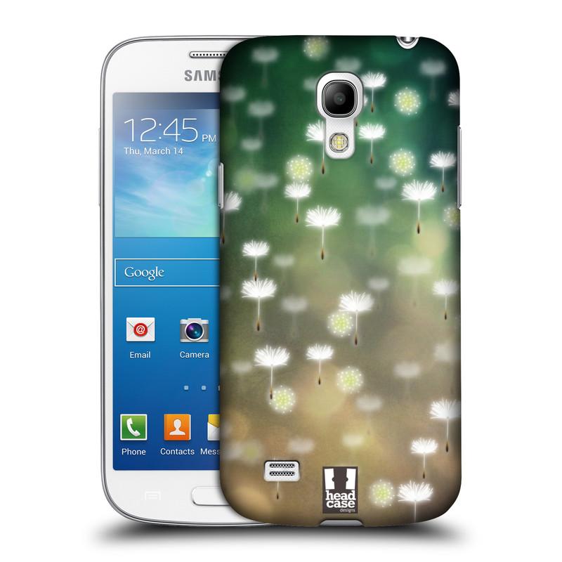 Plastové pouzdro na mobil Samsung Galaxy S4 Mini HEAD CASE Pampeliškové padáčky (Kryt či obal na mobilní telefon Samsung Galaxy S4 Mini GT-i9195 / i9190)