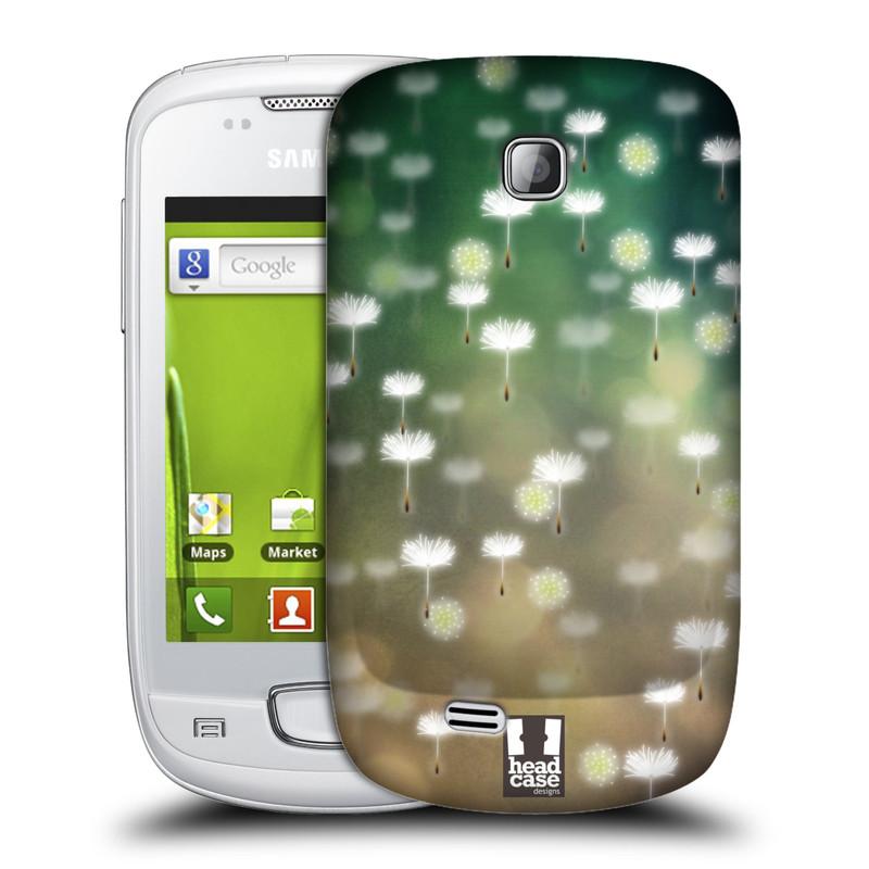 Plastové pouzdro na mobil Samsung Galaxy Mini HEAD CASE Pampeliškové padáčky (Kryt či obal na mobilní telefon Samsung Galaxy Mini GT-S5570 / GT-S5570i)