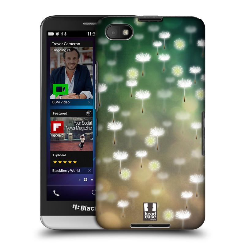 Plastové pouzdro na mobil Blackberry Z30 HEAD CASE Pampeliškové padáčky (Kryt či obal na mobilní telefon Blackberry Z30)