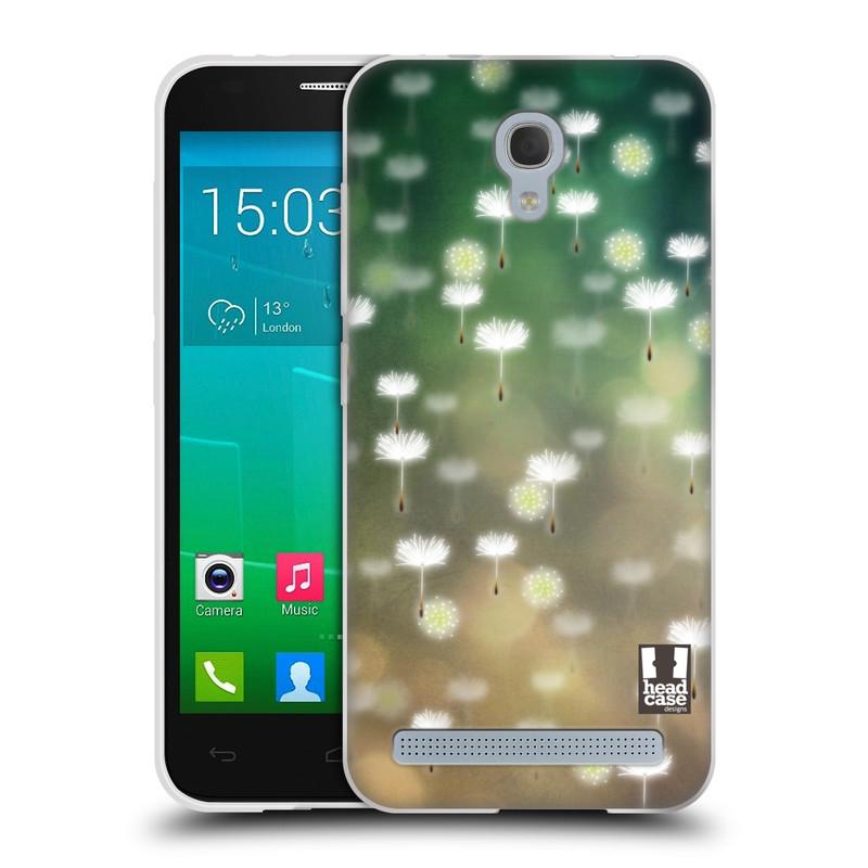 Silikonové pouzdro na mobil Alcatel One Touch Idol 2 Mini S 6036Y HEAD CASE Pampeliškové padáčky (Silikonový kryt či obal na mobilní telefon Alcatel Idol 2 Mini S OT-6036Y)