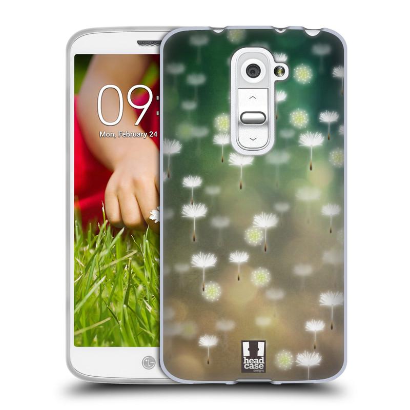 Silikonové pouzdro na mobil LG G2 Mini HEAD CASE Pampeliškové padáčky (Silikonový kryt či obal na mobilní telefon LG G2 Mini D620)