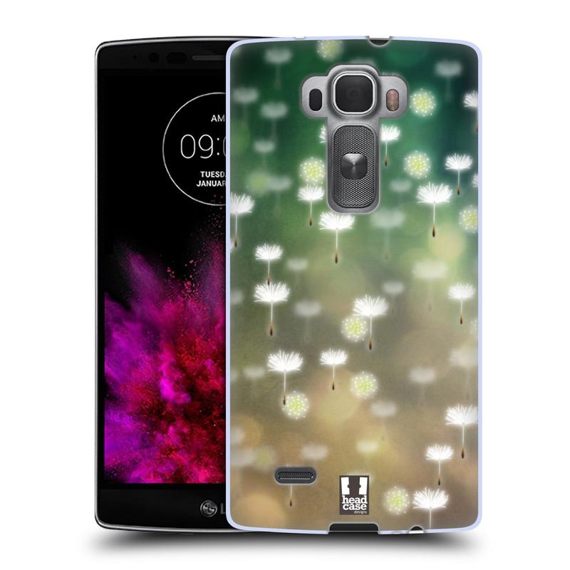 Silikonové pouzdro na mobil LG G Flex 2 HEAD CASE Pampeliškové padáčky (Silikonový kryt či obal na mobilní telefon LG G Flex 2 H955)