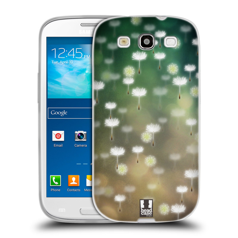 Silikonové pouzdro na mobil Samsung Galaxy S3 Neo HEAD CASE Pampeliškové padáčky (Silikonový kryt či obal na mobilní telefon Samsung Galaxy S3 Neo GT-i9301i)