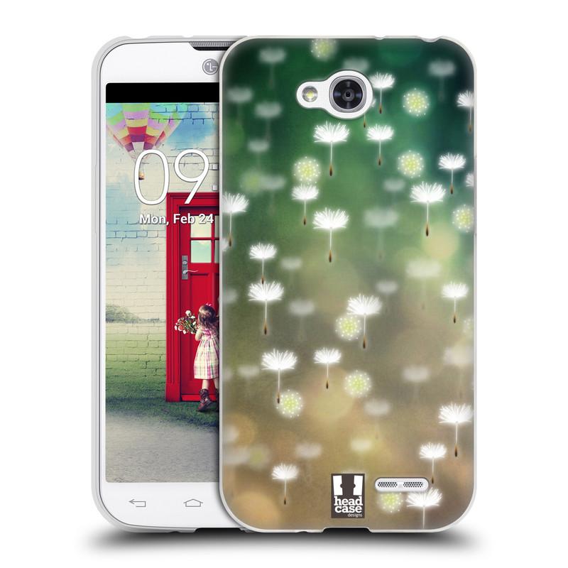 Silikonové pouzdro na mobil LG L90 HEAD CASE Pampeliškové padáčky (Silikonový kryt či obal na mobilní telefon LG L90 D405n)