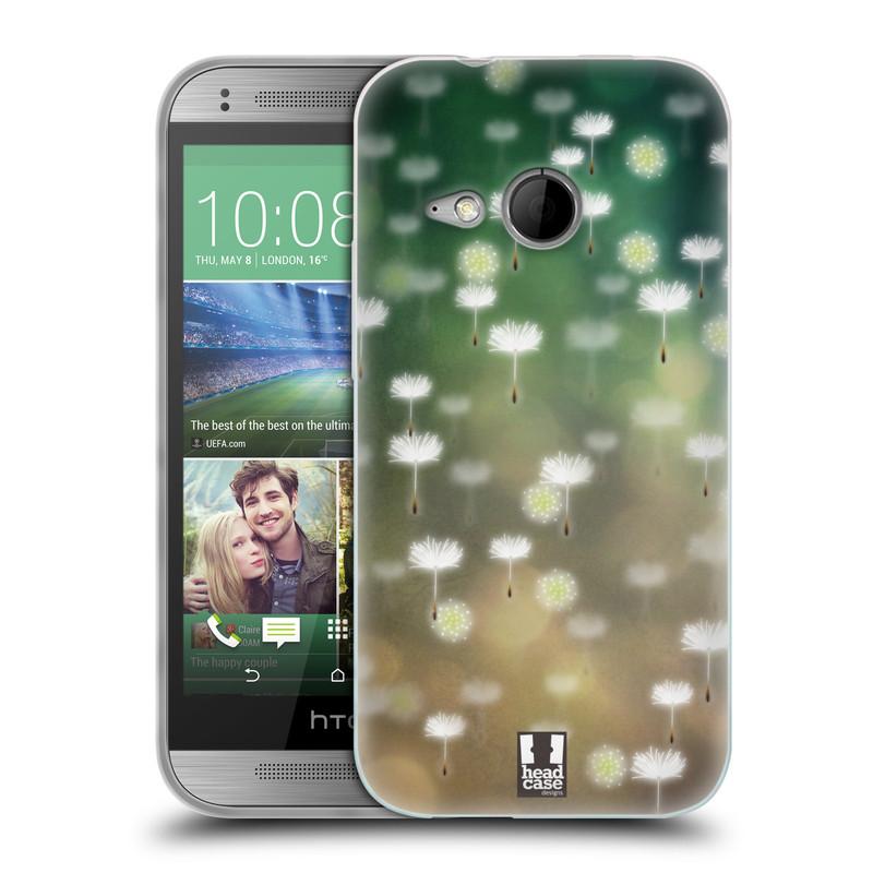 Silikonové pouzdro na mobil HTC ONE Mini 2 HEAD CASE Pampeliškové padáčky (Silikonový kryt či obal na mobilní telefon HTC ONE Mini 2)