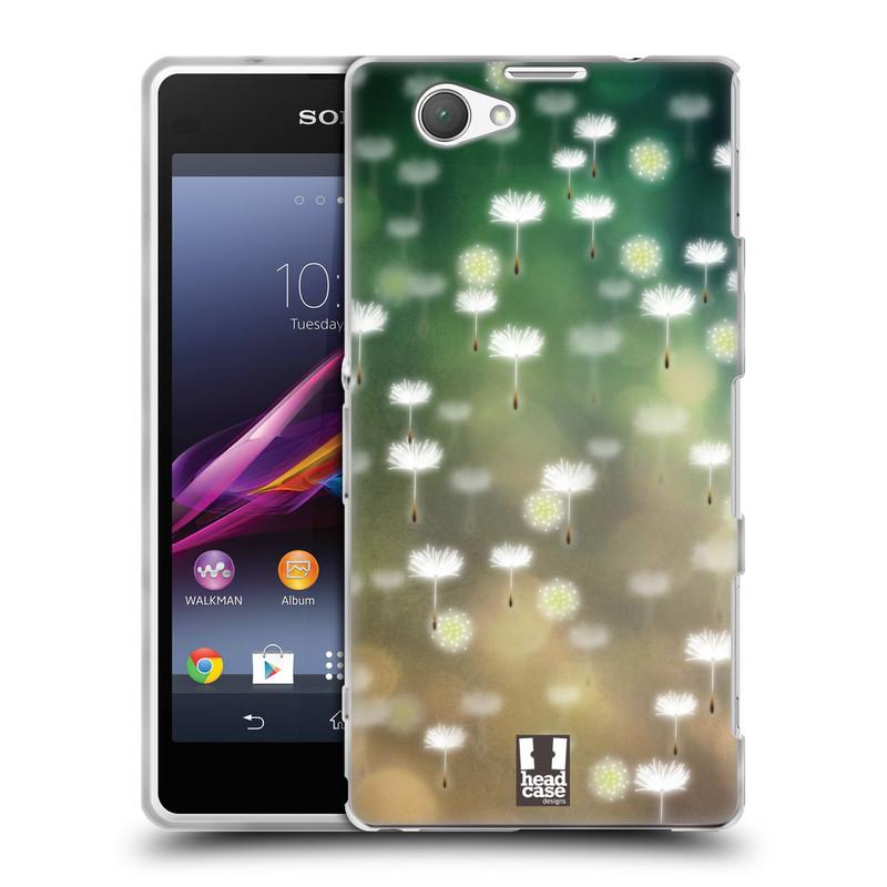 Silikonové pouzdro na mobil Sony Xperia Z1 Compact D5503 HEAD CASE Pampeliškové padáčky (Silikonový kryt či obal na mobilní telefon Sony Xperia Z1 Compact)