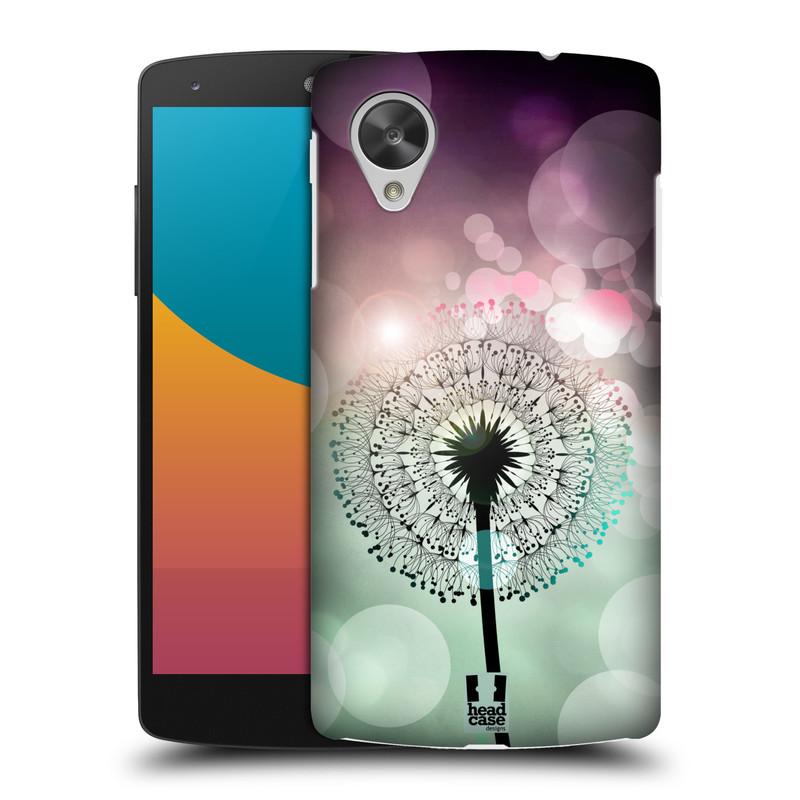 Plastové pouzdro na mobil LG Nexus 5 HEAD CASE Pampeliškové odlesky (Kryt či obal na mobilní telefon LG Google Nexus 5 D821)