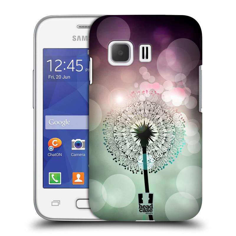 Plastové pouzdro na mobil Samsung Galaxy Young 2 HEAD CASE Pampeliškové odlesky (Kryt či obal na mobilní telefon Samsung Galaxy Young 2 SM-G130)