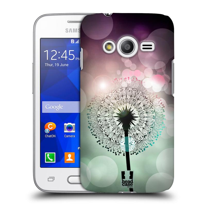 Plastové pouzdro na mobil Samsung Galaxy Trend 2 Lite HEAD CASE Pampeliškové odlesky (Kryt či obal na mobilní telefon Samsung Galaxy Trend 2 Lite SM-G318)