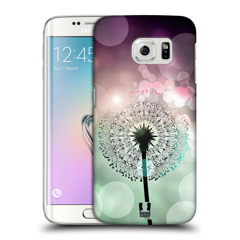 Plastové pouzdro na mobil Samsung Galaxy S6 Edge HEAD CASE Pampeliškové odlesky (Kryt či obal na mobilní telefon Samsung Galaxy S6 Edge SM-G925F)