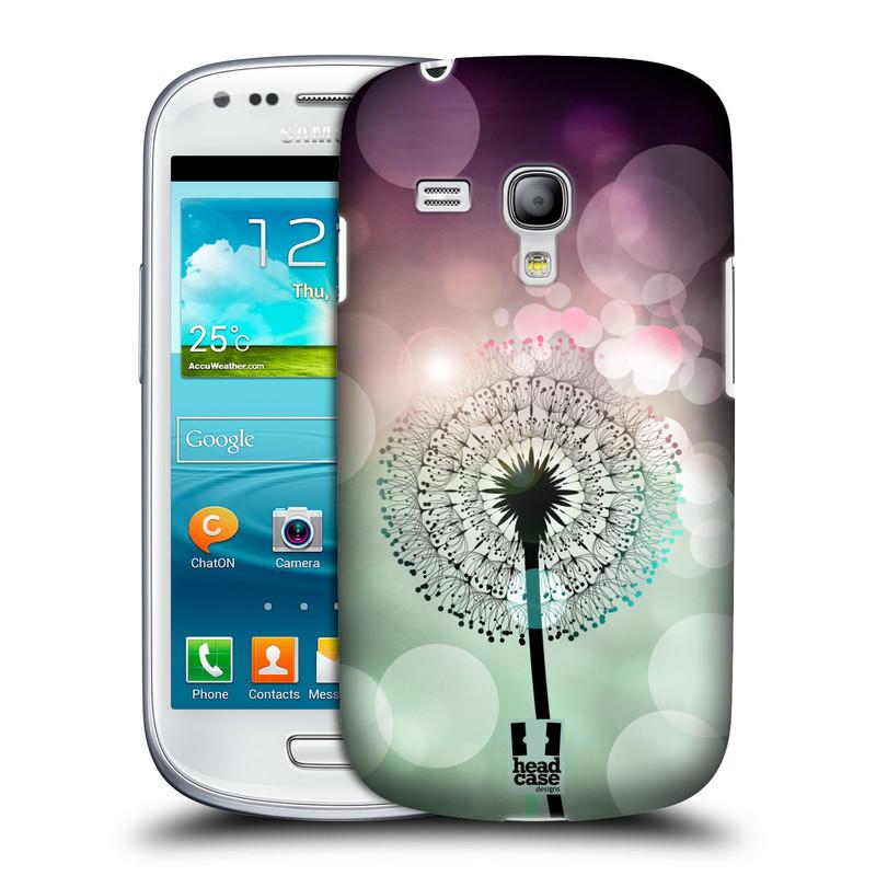 Plastové pouzdro na mobil Samsung Galaxy S III Mini HEAD CASE Pampeliškové odlesky (Kryt či obal na mobilní telefon Samsung Galaxy S III Mini GT-i8190)