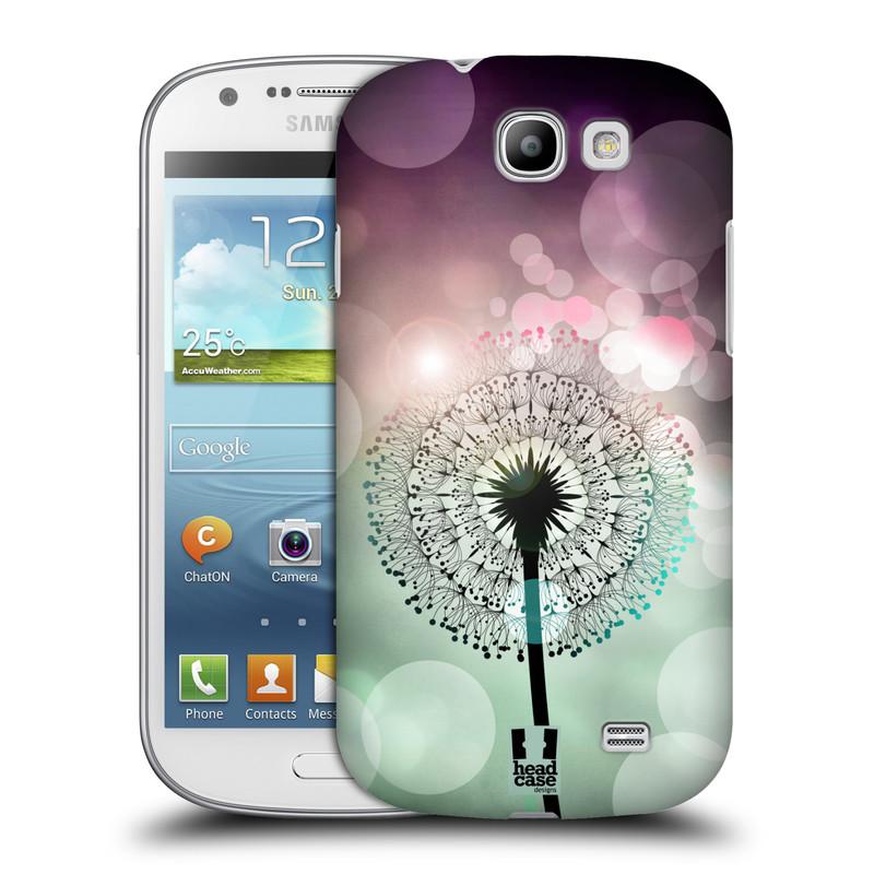 Plastové pouzdro na mobil Samsung Galaxy Express HEAD CASE Pampeliškové odlesky (Kryt či obal na mobilní telefon Samsung Galaxy Express GT-i8730)