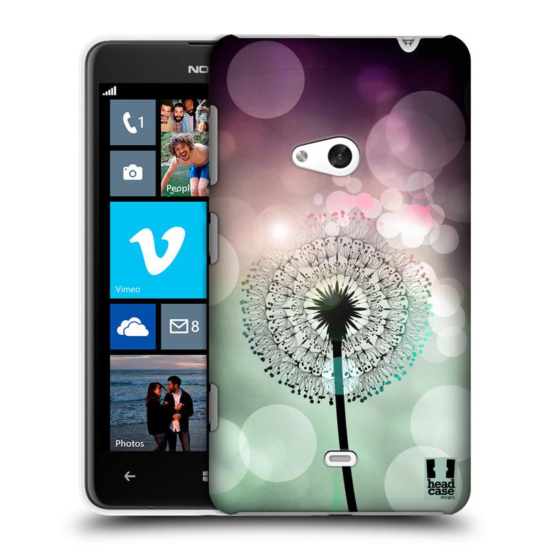 Plastové pouzdro na mobil Nokia Lumia 625 HEAD CASE Pampeliškové odlesky (Kryt či obal na mobilní telefon Nokia Lumia 625)