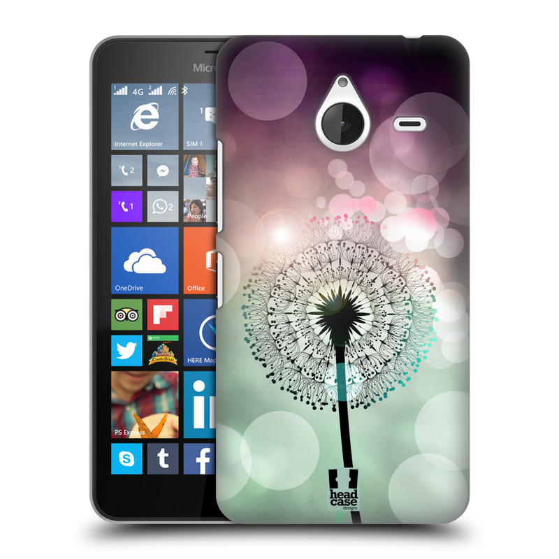 Plastové pouzdro na mobil Microsoft Lumia 640 XL HEAD CASE Pampeliškové odlesky (Kryt či obal na mobilní telefon Microsoft Lumia 640 XL)