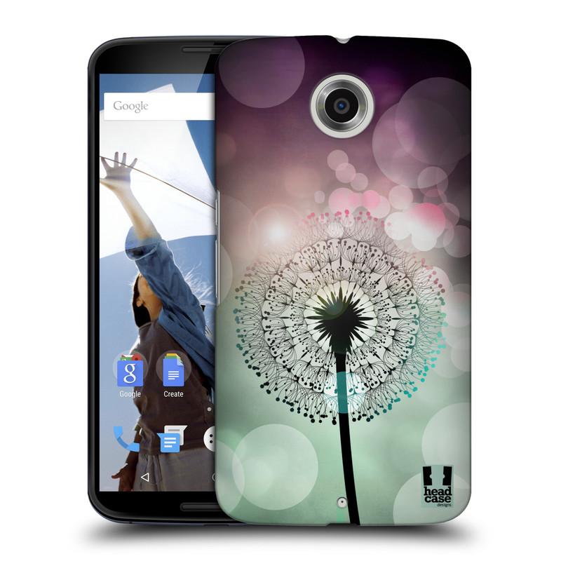 Plastové pouzdro na mobil Motorola Nexus 6 HEAD CASE Pampeliškové odlesky (Kryt či obal na mobilní telefon Motorola Nexus 6)