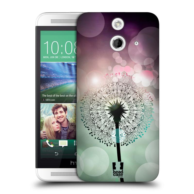Plastové pouzdro na mobil HTC ONE E8 HEAD CASE Pampeliškové odlesky (Kryt či obal na mobilní telefon HTC ONE E8)