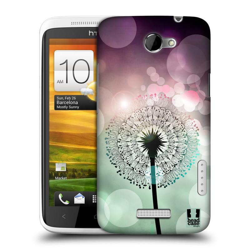 Plastové pouzdro na mobil HTC ONE X HEAD CASE Pampeliškové odlesky (Kryt či obal na mobilní telefon HTC ONE X)