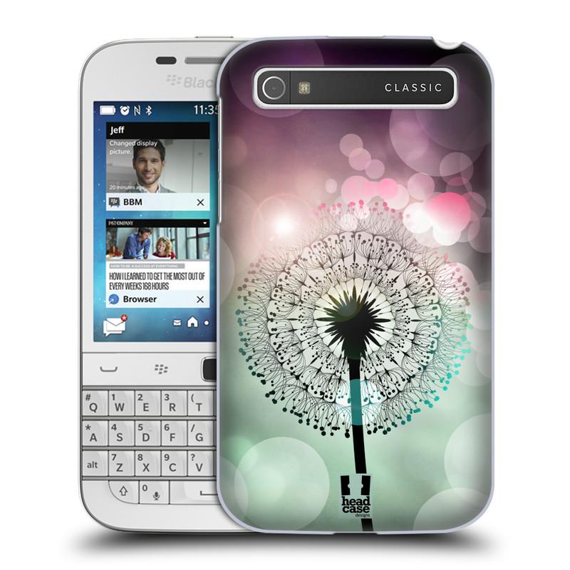 Plastové pouzdro na mobil Blackberry Classic HEAD CASE Pampeliškové odlesky (Kryt či obal na mobilní telefon Blackberry Classic)