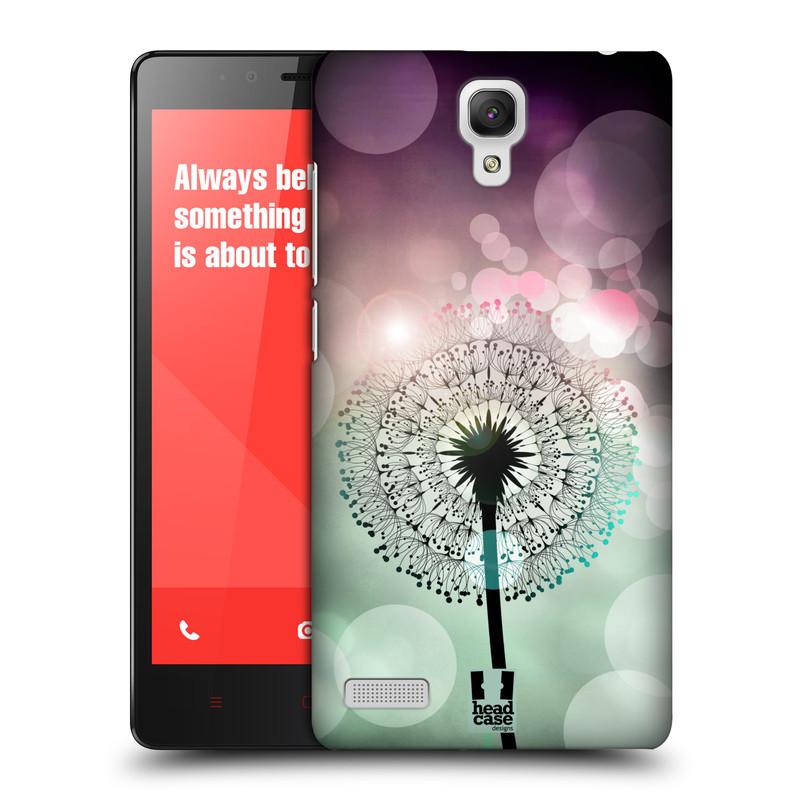 Plastové pouzdro na mobil Xiaomi Redmi Note LTE HEAD CASE Pampeliškové odlesky (Kryt či obal na mobilní telefon Xiaomi Redmi Note LTE (4G) s 5,5'' displejem)